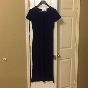 NWOT Navy Ankle-length Liz Claiborne Dress